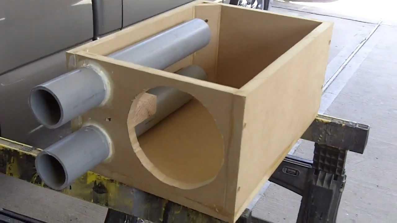 6 Inch speaker box design