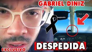 Último vídeo do cantor Gabriel Diniz no avião mostra minutos antes dele nos deixar
