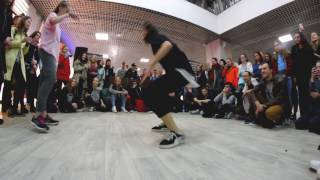 MAYA vs. Polina (DANCE BATTLE в ТРЦ Секрет 2017)