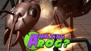 CAN I KILL THE GIANT ANTS?! - Amazing Frog - Part 54 | Pungence