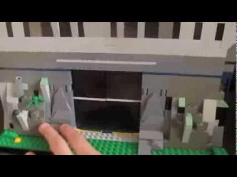 Lego Batman Batcave Custom Moc Lego Batman Batcave