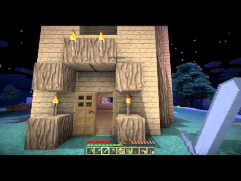 Minecraft Co-op #6 Floating Island 120+