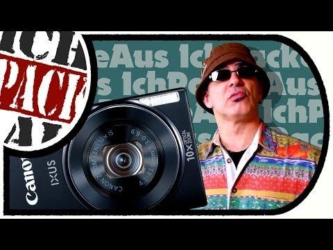 Es macht KLiCK! - Canon IXUS 155 (Unboxing + erster Test)