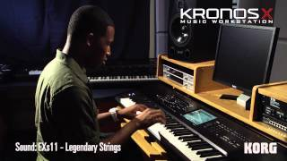 Korg All Access: Cory Henry checks out Korg Kronos X