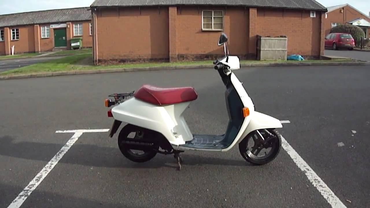 1989 honda ne50mff vision 50 moped scooter gc new mot   youtube