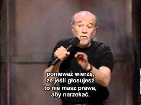 George Carlin PL - Wybory