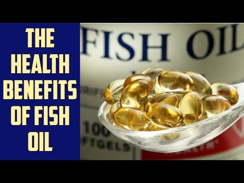 The health benefits of omega-3 fatty acids