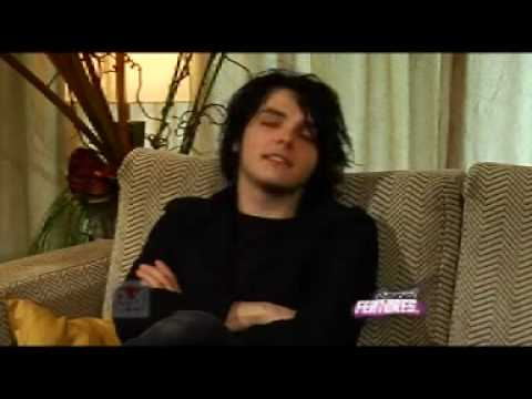 Gerard Way My Chemical Romance Exclusive