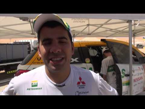 Equipe Mitsubishi Petrobras :: Etapa 02 Rally Desert Challenge Abu Dhabi 2013,competicin