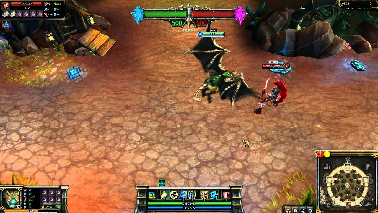 OLD Commando Galio League Of Legends Skin Spotlight