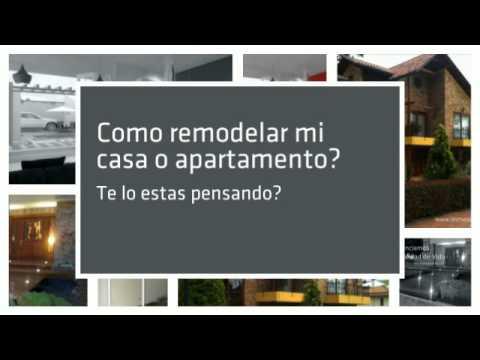 Como remodelar mi casa o apartamento youtube for Consejos para remodelar mi casa