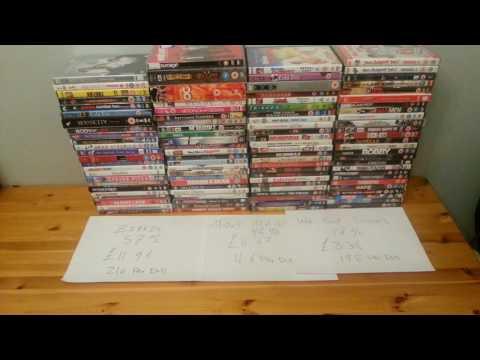 100 DVD Challenge - Music Magpie Vs WeBuyBooks Vs Ziffit