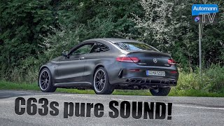2019 Mercedes-AMG C63s - pure SOUND!
