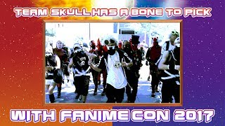 Team Skull Has A Bone to Pick With FanimeCon 2017