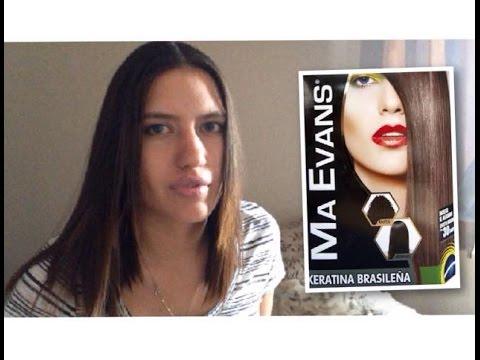KERATINA BRASILEÑA EN CASA | MA EVANS