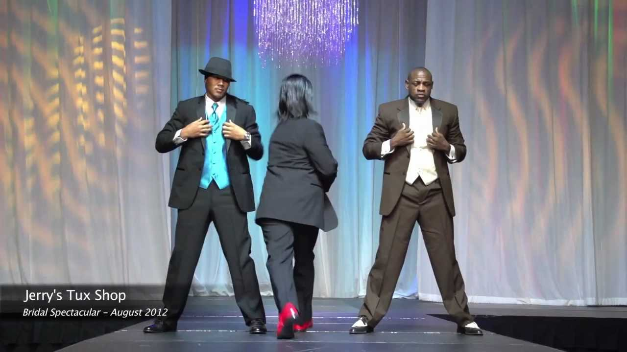 Las vegas tuxedos at bridal spectacular bridal show youtube for Vegas wedding show