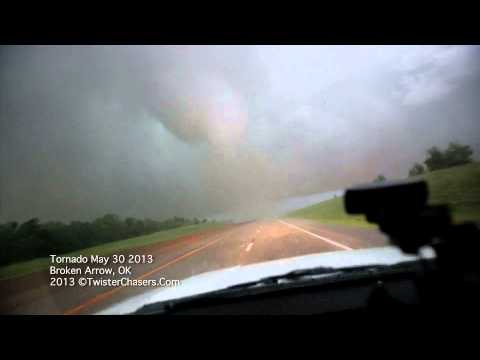Insane footage of the Broken Arrow OK Tornado May 30 2013