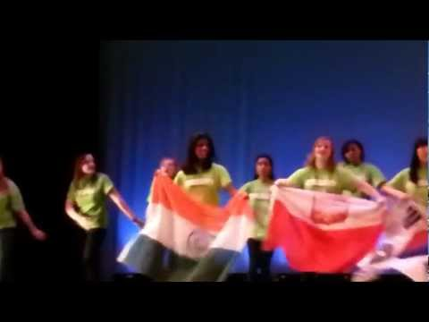 Ashley's Diversity Group At Andrew High School! 2 23 2013 video