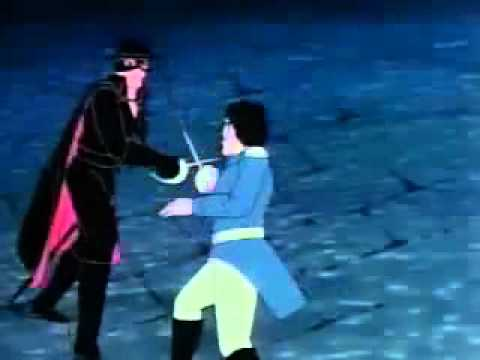 Filmation Zorro Intro