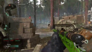 Call of Duty: World War II - Lever Action DLC Game Play