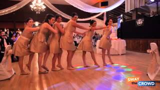 Pitch Perfect Wedding Toast Maid of Honor and Bridesmaid Flash Mob