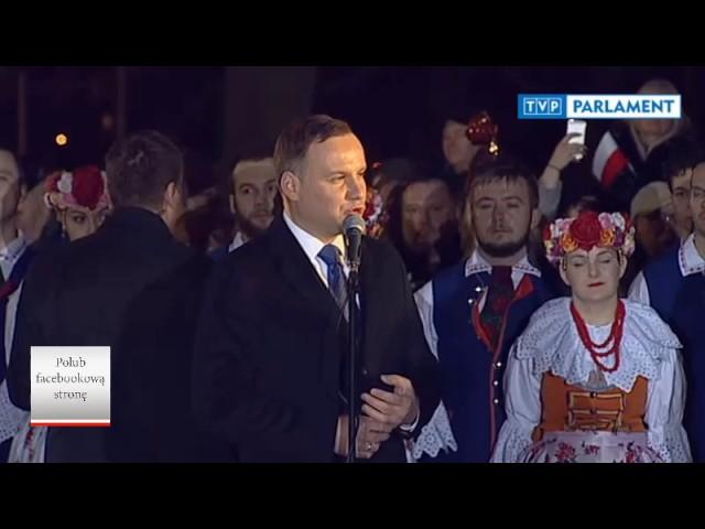 Prezydent Andrzej Duda miażdży Platformę Obywatelską