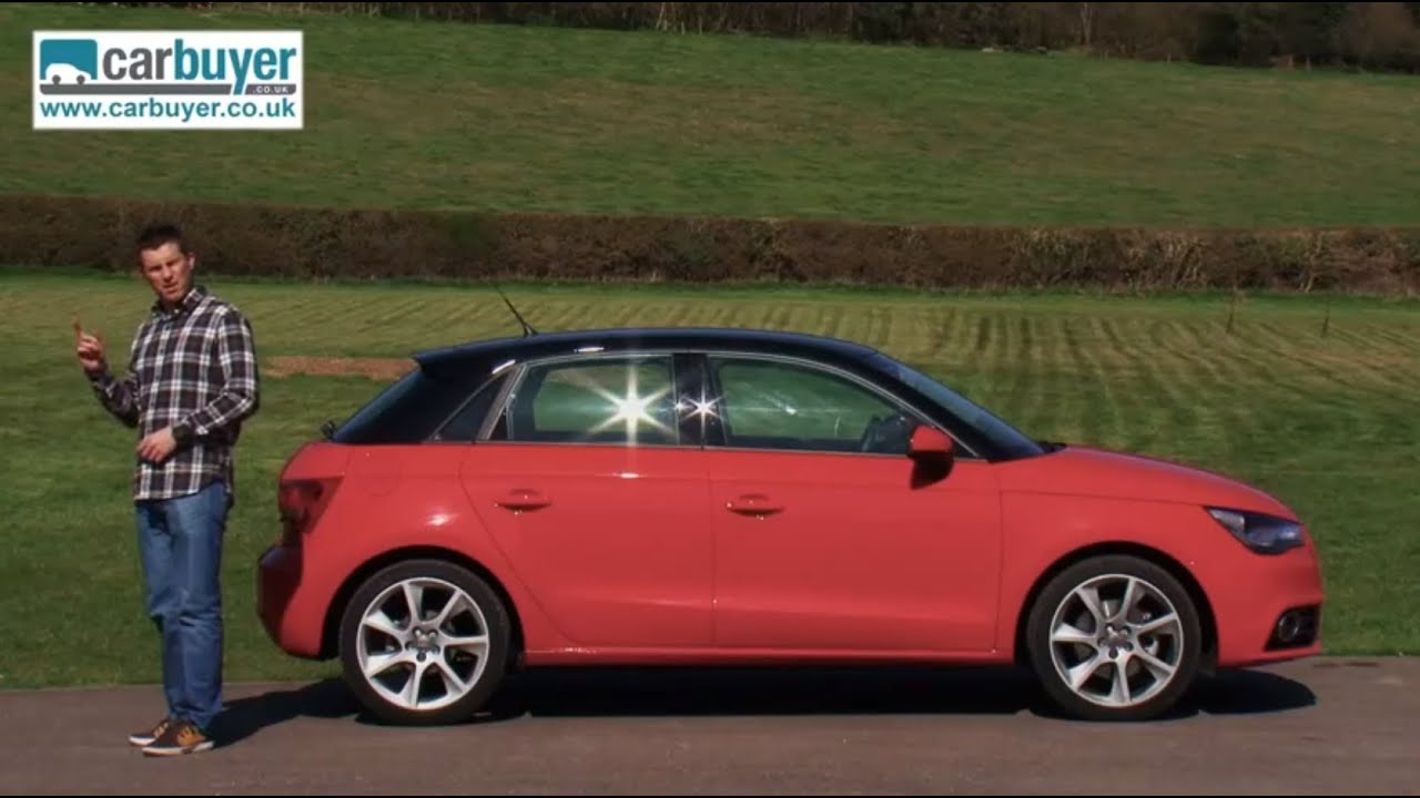 audi a1 sportback hatchback review carbuyer youtube. Black Bedroom Furniture Sets. Home Design Ideas