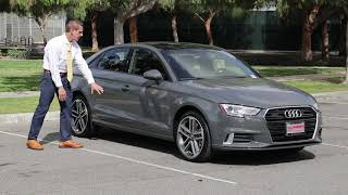 The 2019 Audi A3 2.0t quattro Review | Walkaround