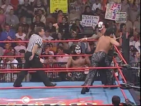 The Great Muta VS Vampiro WCW 2000