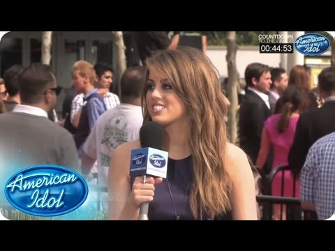 The Finalists Weigh In at the Finale Pre-Show - AMERICAN IDOL SEASON 12