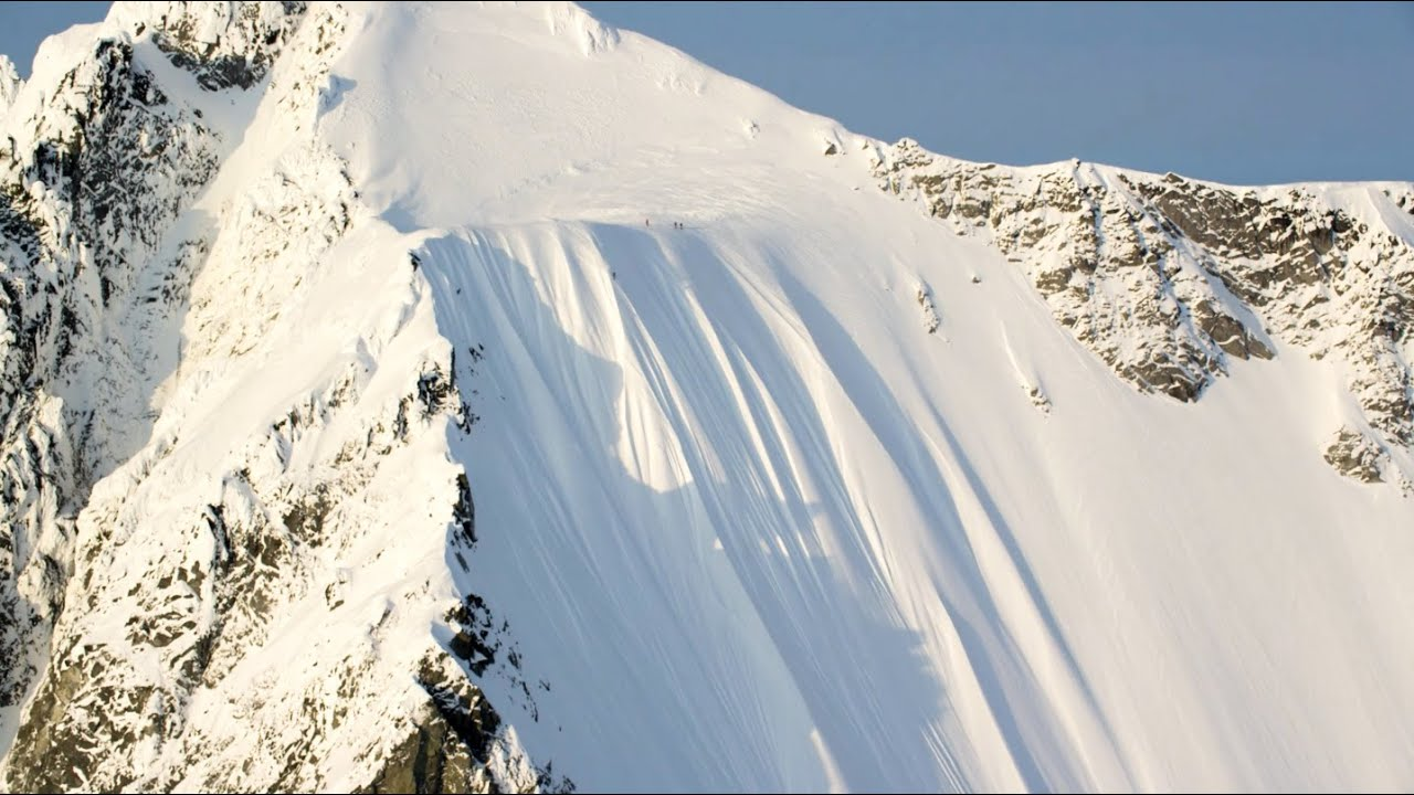 [Skier Falls A Mind Blowing 1600 Feet And Lives] Video