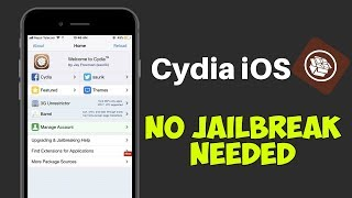 How to get Cydia on iPhone/iOS - NO JAILBREAK, NO COMPUTER