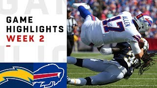 Chargers vs. Bills Week 2 Highlights | NFL 2018