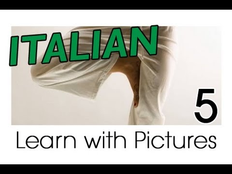 Learn Italian - Italian Body Parts Vocabulary
