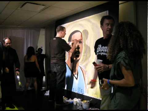 Kevin Durant Live Painting By Hvw8 Art Installation