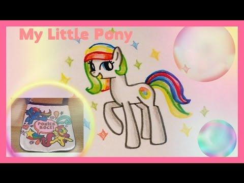 Литл пони раскраска пинки пай