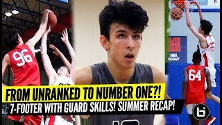 Breakout Player! From Unranked to Number 1?! 7-Foot Chet Holmgren Summer Recap! Tons of Highlights!