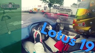 On Board: Rob Huff takes the lead in V8 Can-Am Lotus