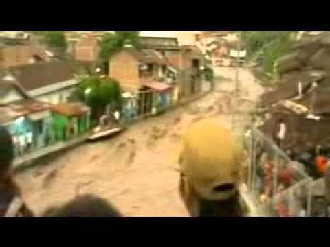 Banjir Lahar Merapi di Kali Code, Yogyakarta