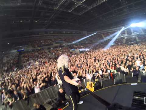 Brian May selfie stick