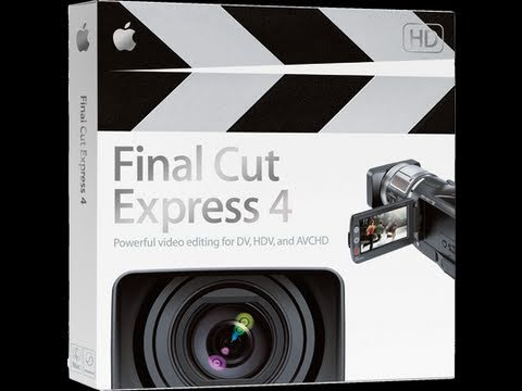 Best Final Cut Express Export Settings - Fast and High Quality Music Videos