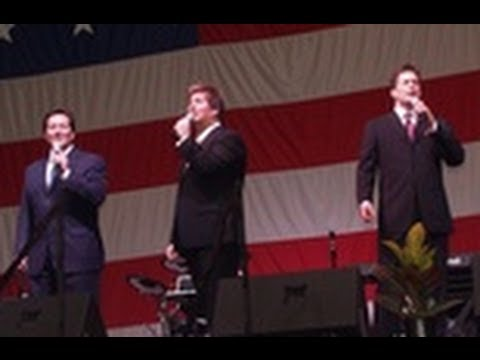 Booth Brothers at 44th Annual Brumely Sing and Duane Garren fainting