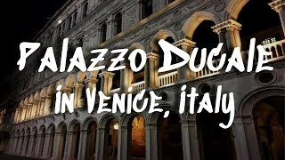 The Doge's Palace in Venice, Italy || Duke's Palace || Palazzo Ducale