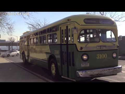 MaBSTOA Bus Special: GM Old Look #3100 @ 1 Av/42nd St/United Nations