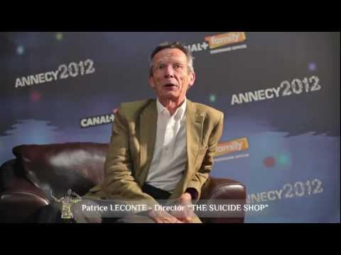 Interview de Patrice Leconte (réalisateur de Le Magasin des suicides)