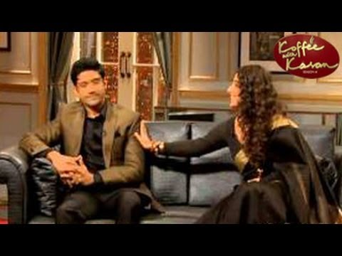 KOFFEE WITH KARAN Farhan Akhtar and Vidya Balan SPECIAL 12th January 2013 FULL EPISODE