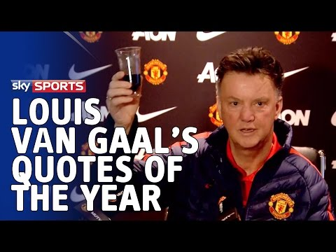 Louis van Gaal's best quotes of 2014