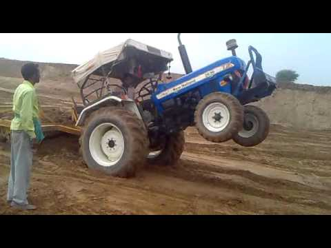 Tractor Stunt Of New Holland video