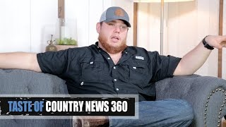 Download Lagu Luke Combs Left Town Like a Hurricane - Taste of Country News 360 Gratis STAFABAND