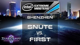 First vs. Snute - IEM Shenzhen 2014 - LB Final EU Qualifier - StarCraft 2